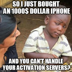 iphone Activation servers