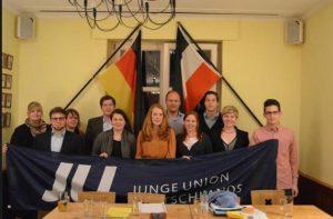 Junge Union - Alte Reichskriegsflagge